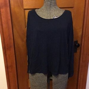 Forever 21 Basic Essential Long Sleeve Top Size L